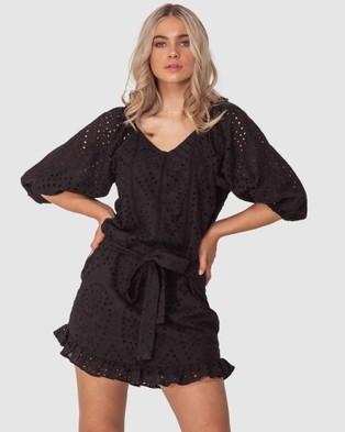 Three of Something Faithfiul Dress - Dresses (BLACK)
