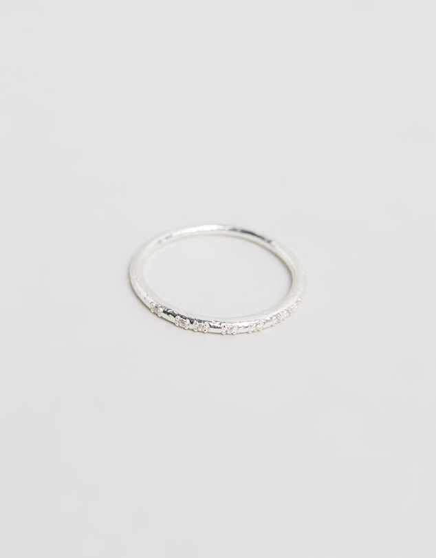 By Charlotte - Illuminate Silver Ring