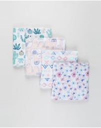 Aden & Anais - 4 Pack Swaddles