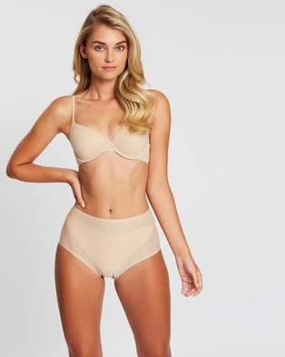 Calvin Klein Perfectly Fit T Shirt Bra - Accessories (Bare)