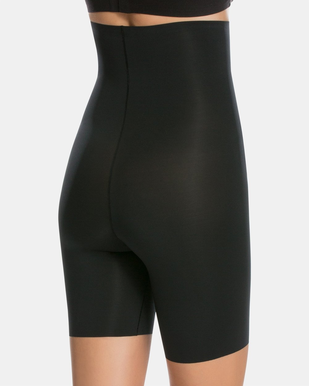 b49d9e356e885 Thinstincts High-Waisted Mid-Thigh Shorts by Spanx Online