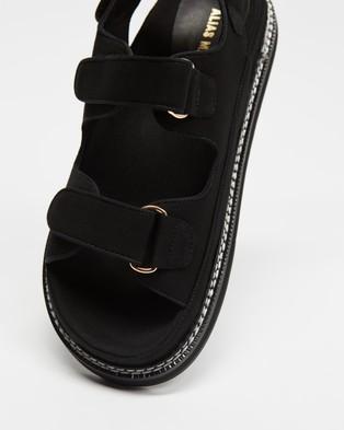 Alias Mae Pascale - Sandals (Black Canvas)