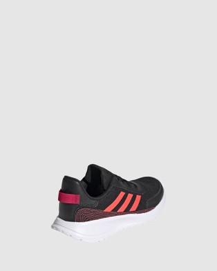 adidas Performance Tensaur Grade School - Lifestyle Shoes (Black/Signal Pink)