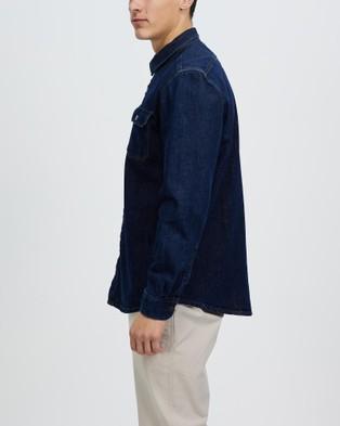 Marcs - Hank Denim Overshirt - Casual shirts (DENIM) Hank Denim Overshirt