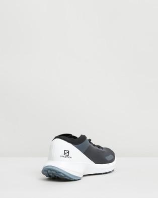 Salomon Sense Feel Shoes   Women's - Walking (India Ink, White & Flint Stone)