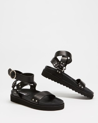 Caverley - Burt Sandals (Black)