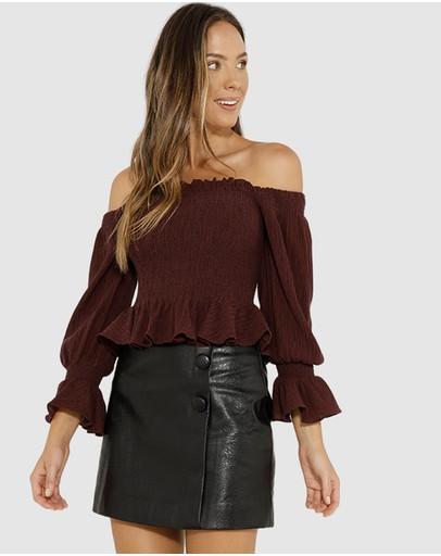 38dff3e54f5 Off Shoulder Tops | Off The Shoulder Tops Online | Buy Womens Off Shoulder  Top Australia |- THE ICONIC