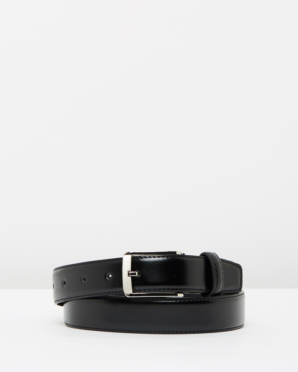 Buckle Toronto Leather Belt Belts Black