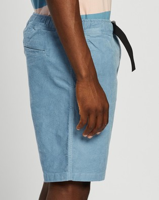 Locale Textured Utility Shorts - Shorts (Pale Blue)