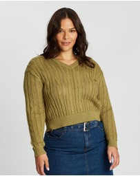 Cotton On Curve - Curve Cable Pullover