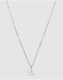 Dear Addison - Initial M Letter Necklace