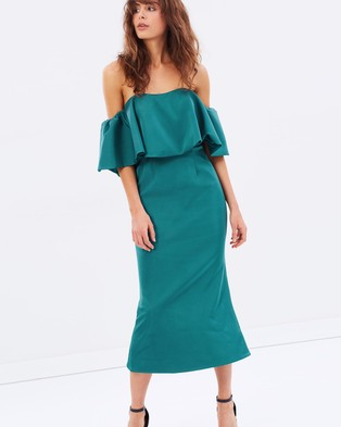 Talulah – Without You Midi – Dresses (Emerald)