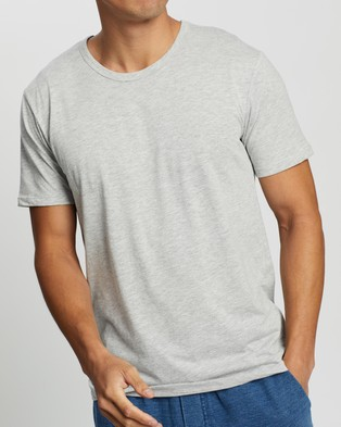 Bonds Essentials Tee - T-Shirts & Singlets (New Grey Marle)