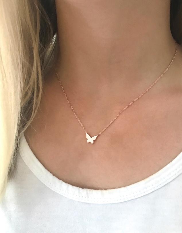 Women Butterfly Necklace