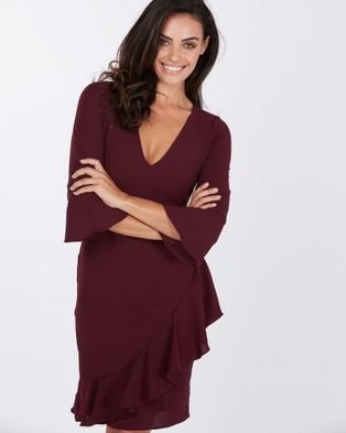 Tussah – Varna Dress – Dresses (Purple)