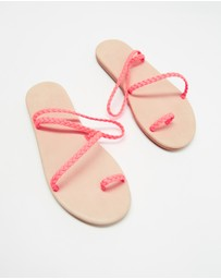 Ancient Greek Sandals - Eleftheria Flip Flops