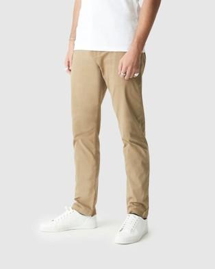 Mavi Edward Chinos - Pants (British Khaki Twill)