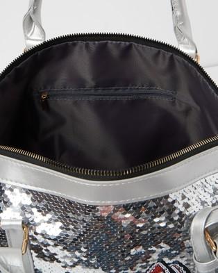 Izoa Kids Mini Traveller Overnight Bag - Bags (Silver)