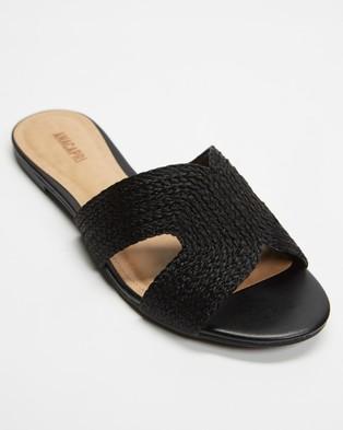 Anacapri Natural Slides - Sandals (Preto)