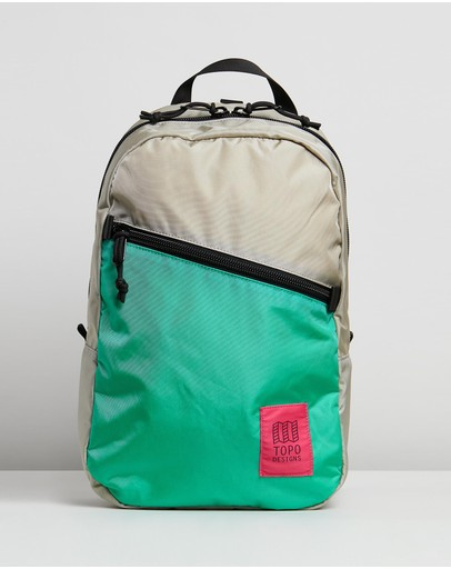Topo Designs Light Pack Silver & Mint