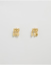 Luv Aj - Marquise Dangle Studs