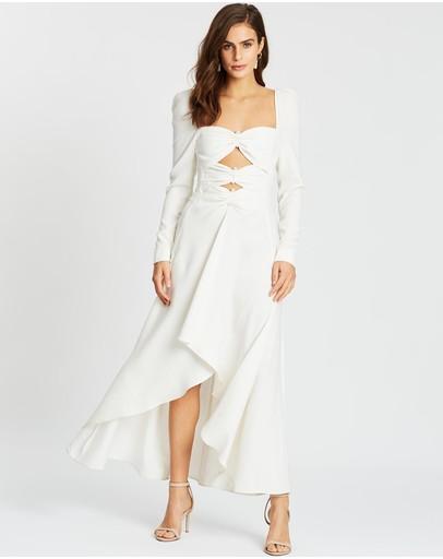 Nicola Finetti Maya Dress White