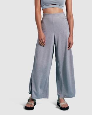 First Base Sports Lifestyle Trouser - Sweats (Grey)
