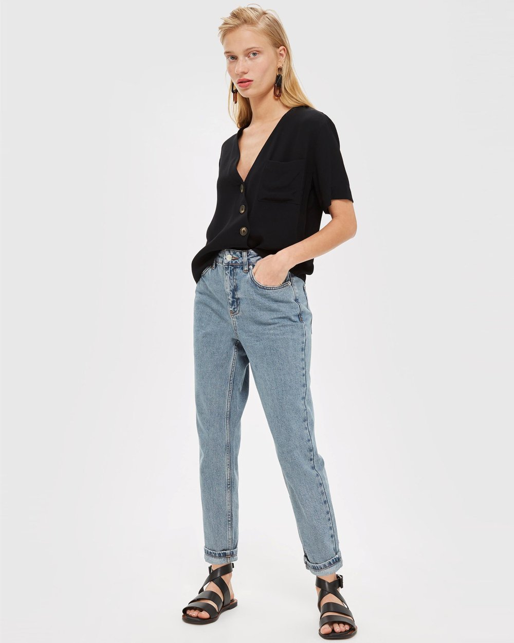 843fe2dcf99 Mom Jeans by TOPSHOP Petite Online
