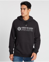 Abercrombie & Fitch - Heritage Logo Popover Hoodie
