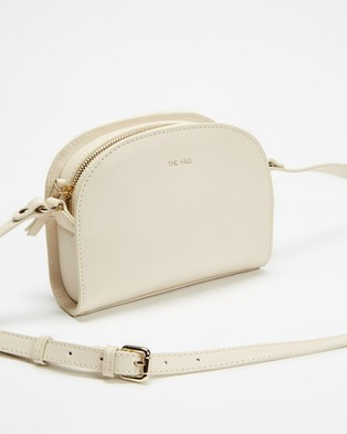 Fall The Label Half Moon Ivory Cross Body Bag - Bags (Ivory)