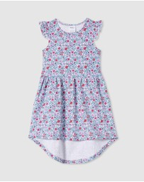 Milky - ICONIC EXCLUSIVE - Antique Floral Dress - Kids