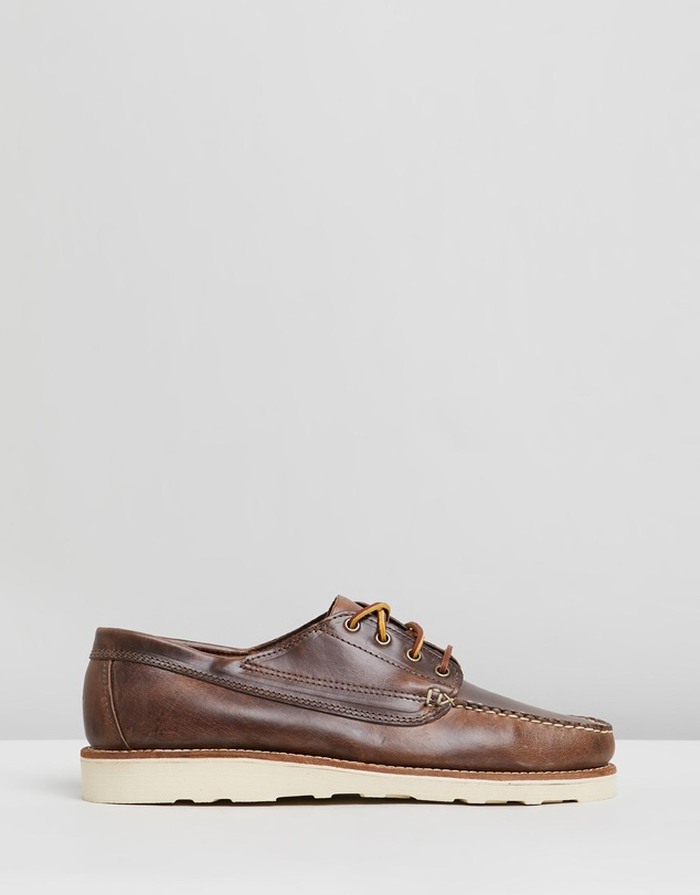 Oak Street Bootmakers - Vibram Trail Oxfords