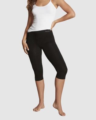 Boody Organic Bamboo Eco Wear Complete Legging Ensemble   3 Pack - Socks & Tights (Black)