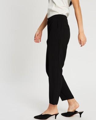 Dorothy Perkins Edit Crepe Trousers - Pants (Black)