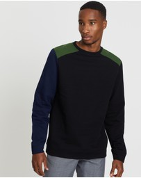 Oliver Spencer - Arman Robin Crew Sweater