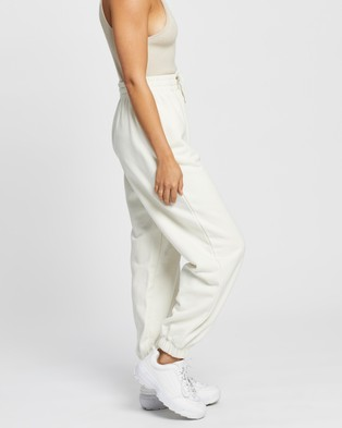 AERE Organic Cotton Sweat Pants - Sweatpants (Cream)