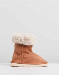 Cotton On Kids - Faux Fur Foldover - Kids
