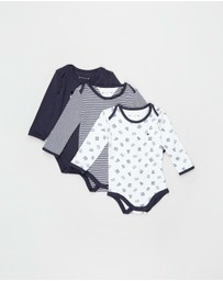 Tommy Hilfiger - Bodysuit 3-Pack Giftbox - Babies