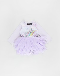 Rock Your Baby - ICONIC EXCLUSIVE - LS Flounce Dress - Babies