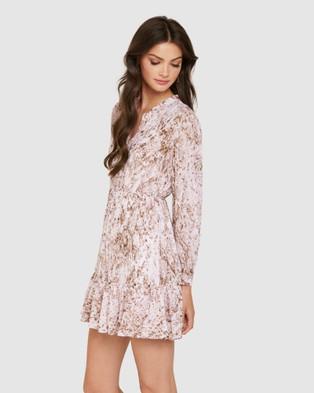Forever New Juliette Petite Shirt Dress - Dresses (Light Mocha Snake)