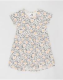 Cotton On Kids - Freya Short Sleeve Dress - Kids-Teens