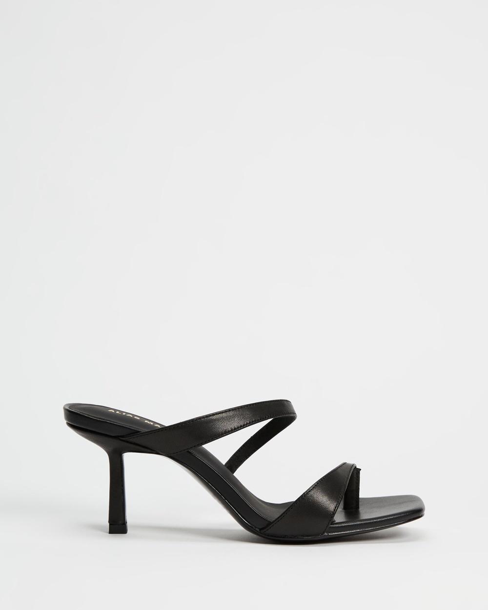 Alias Mae Lizzy Sandals Black Leather