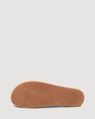 REEF Cushion Court - Thongs (Black)