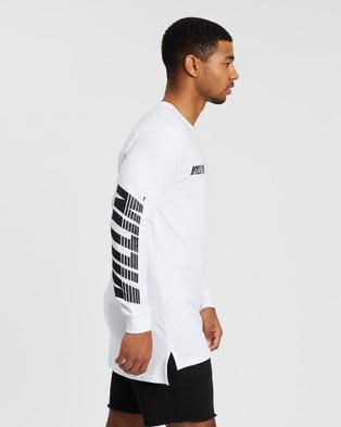 VILLIN Speed Long Sleeved Tee - T-Shirts & Singlets (White)
