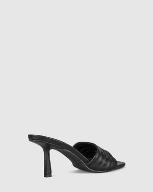 St Sana Emberly Mules - Heels (Black)