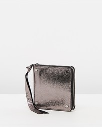 McQ by Alexander McQueen - Metallic Square Wallet