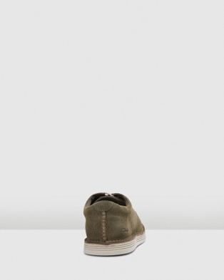 Clarks Forge Vibe - Dress Shoes (Olive Suede)