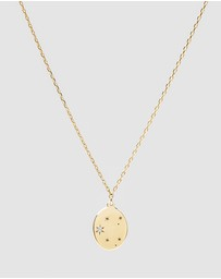 Luna Rae - Solid Gold - Stars of Libra Necklace