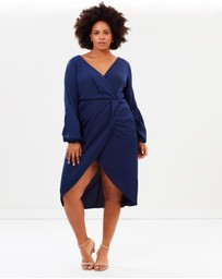 Cooper St - CS CURVY Drape Dress