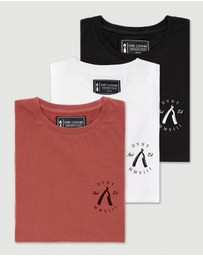 DVNT - 3 Pack Rough Cuts Tee